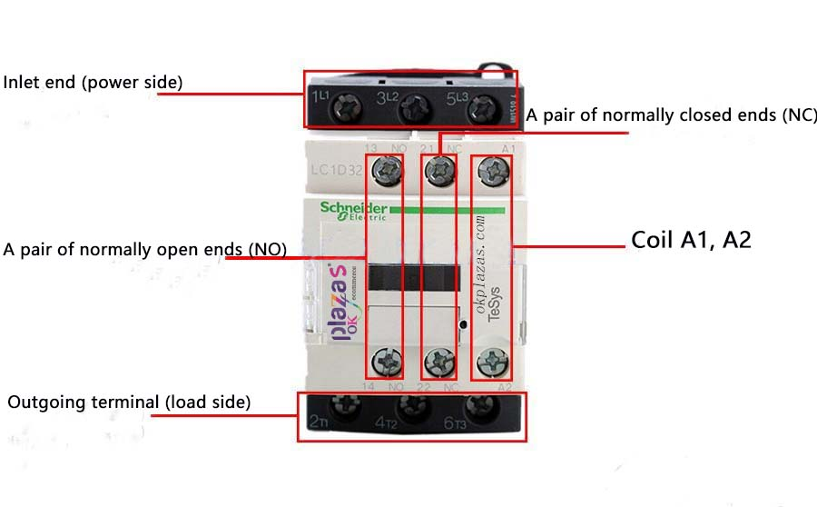 220v Ac Contactor Wiring Method And, Contactor Wiring Diagrams